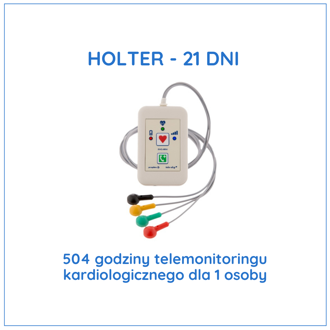 Holter 21 dni
