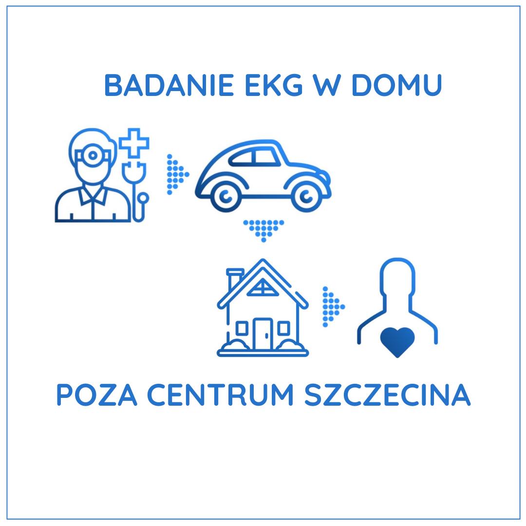 Badanie EKG w domu - Poza Centrum Szczecina