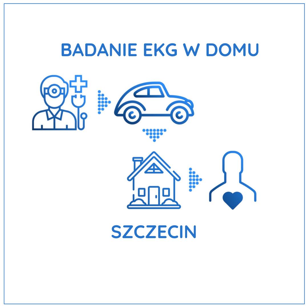 Badanie EKG w domu - Szczecin