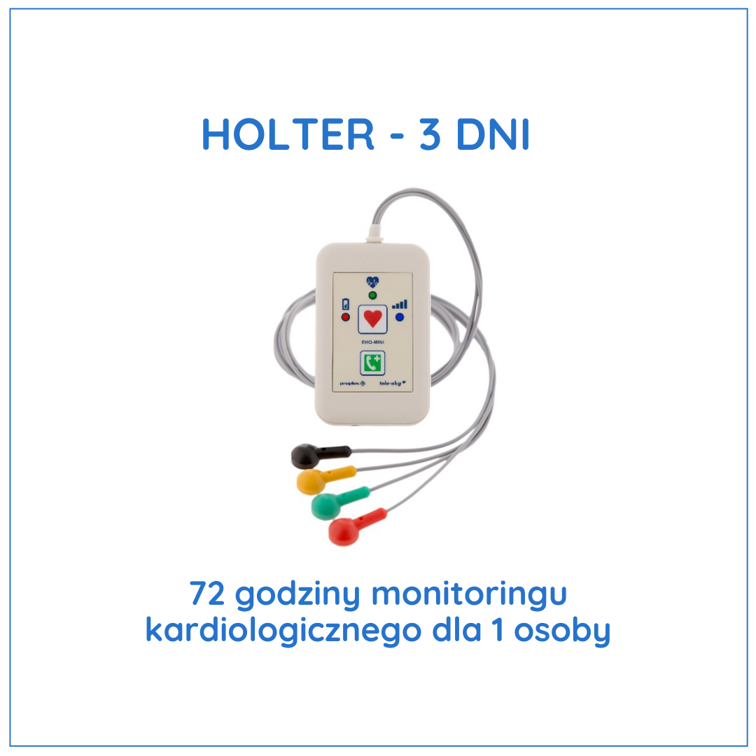 Holter 3 dni